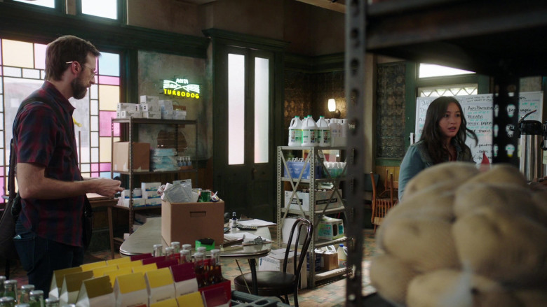 Abita Turbodog Beer Sign in NCIS New Orleans S07E07 (1)
