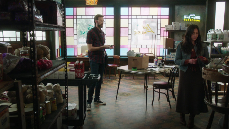 Abita Turbodog Beer Sign in NCIS New Orleans S07E07 (2)