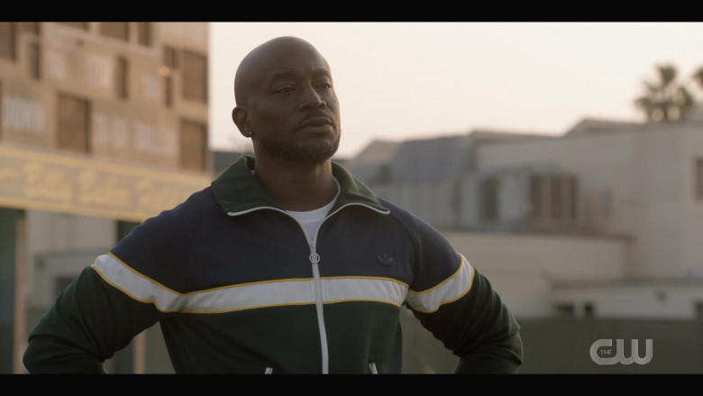 Adidas Men's Track Jacket of Taye Diggs as Billy Baker in All American S03E02 (1)