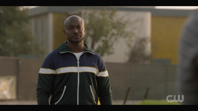 Adidas Men's Track Jacket of Taye Diggs as Billy Baker in All American S03E02 (3)