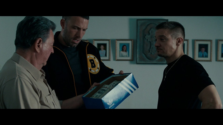 Adidas shoe box in The Town (2010)