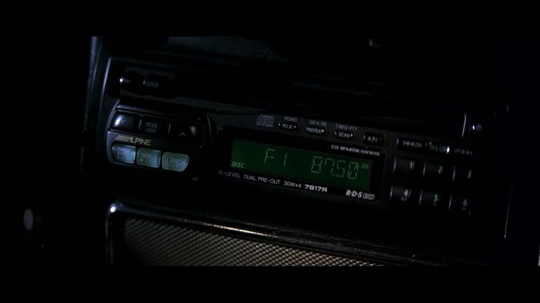 Alpine 7817R Car Radio in GoldenEye (1995)