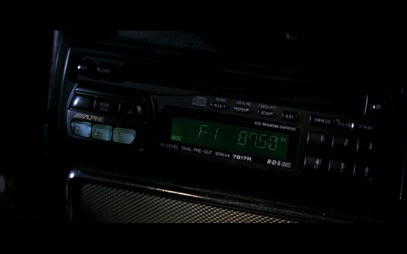 Alpine 7817R Car Radio in GoldenEye (1995)