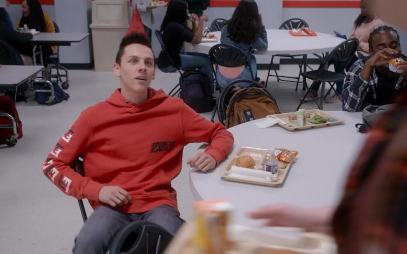 American Eagle Hoodie of Jacob Bertrand as Eli 'Hawk' Moskowitz in Cobra Kai S03E07 (1)