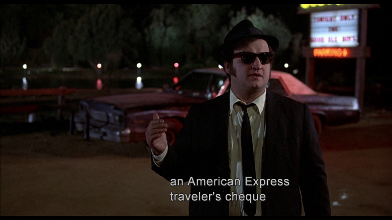 American Express in The Blues Brothers (1980)