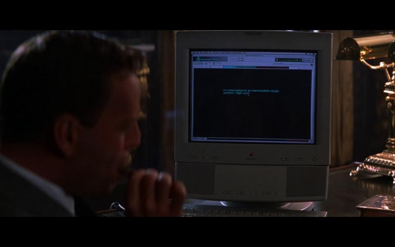 Apple Computer in The Jackal (1997)