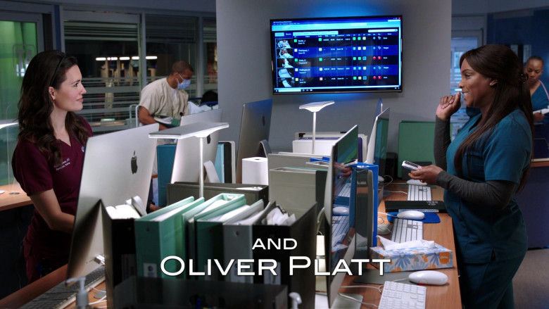 Apple iMac Computers in Chicago Med S06E03 (2)