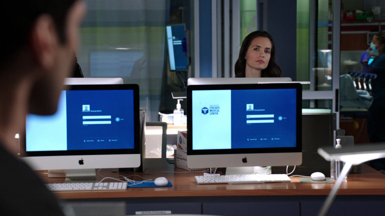 Apple iMac Computers in Chicago Med S06E03 (4)