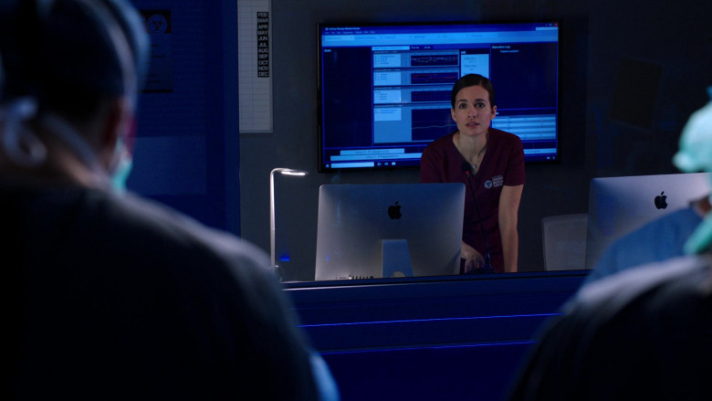 Apple iMac Computers in Chicago Med S06E04 (3)