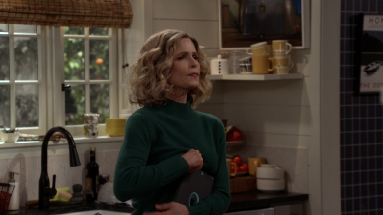 Apple iPad Tablet of Kyra Sedgwick as Jean Raines in Call Your Mother S01E03 (3)