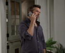 Apple iPhone Smartphone of Patrick Brammall as Danny in Call...