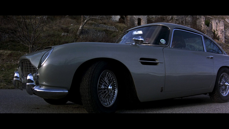 Aston Martin DB5 Car in GoldenEye (1995)