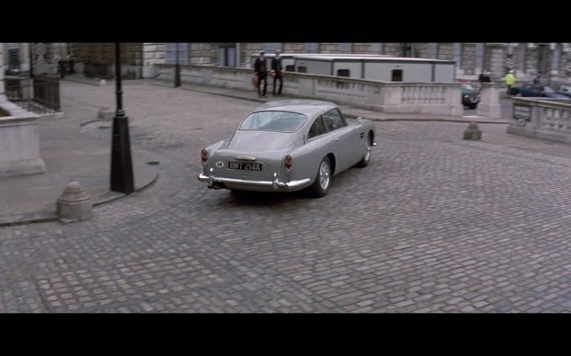 Aston Martin DB5 in Tomorrow Never Dies (1997)