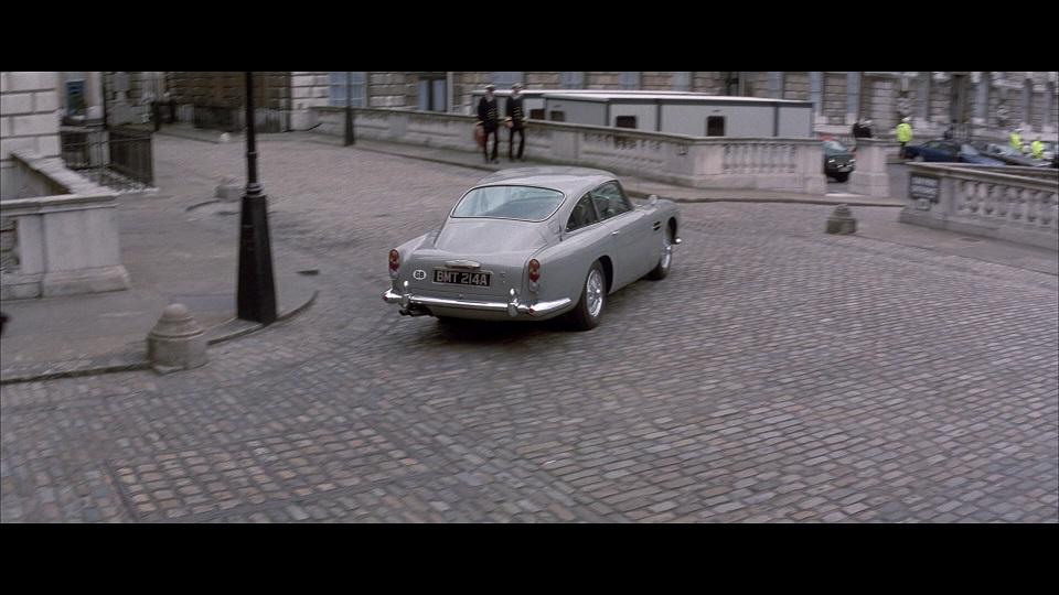Aston Martin Db5 In Tomorrow Never Dies 1997