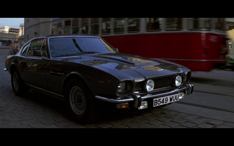 Aston Martin V8 MkIV Car in The Living Daylights (1987)