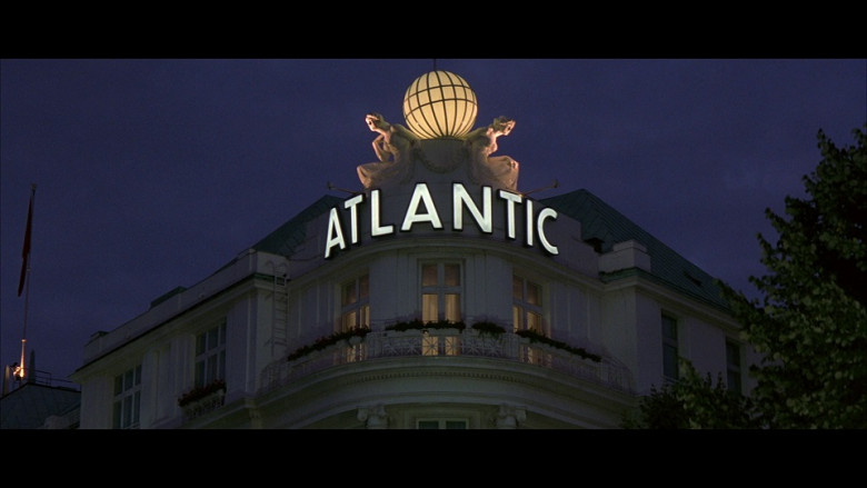 Atlantic Hotel Hamburg in Tomorrow Never Dies (1997)