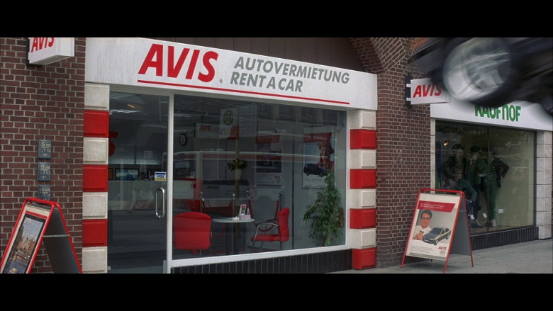 Avis Car Rental in Tomorrow Never Dies (1997)
