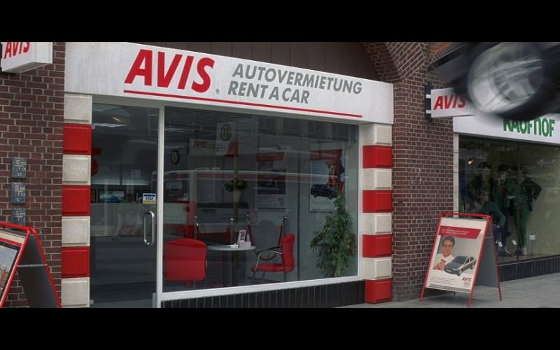 Avis Car Rental in Tomorrow Never Dies (1997)