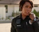 Axon Body Camera of Angela Bassett as Athena Carter Grant Na...