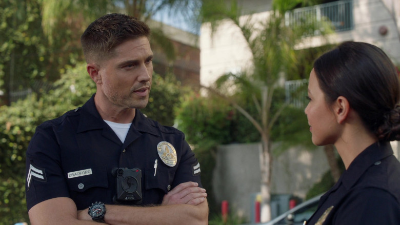 Axon Body Camera of Eric Winter as Tim Bradford in The Rookie S03E02 (1)