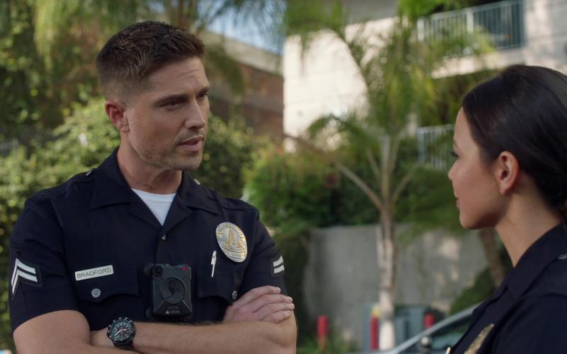 Axon Body Camera of Eric Winter as Tim Bradford in The Rookie S03E02 (1)