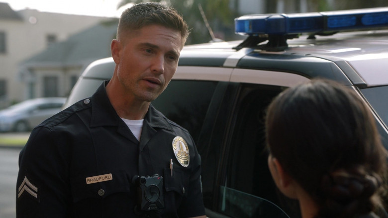 Axon Body Camera of Eric Winter as Tim Bradford in The Rookie S03E02 (2)