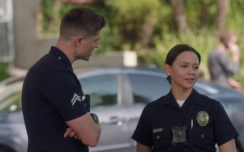 Axon Body Camera of Melissa O'Neil as Lucy Chen in The Rookie S03E02 (1)