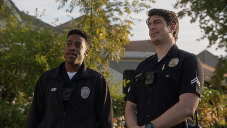 Axon Body Cameras in The Rookie S03E04 Sabotage (1)