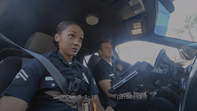 Axon Body Cameras in The Rookie S03E04 Sabotage (2)
