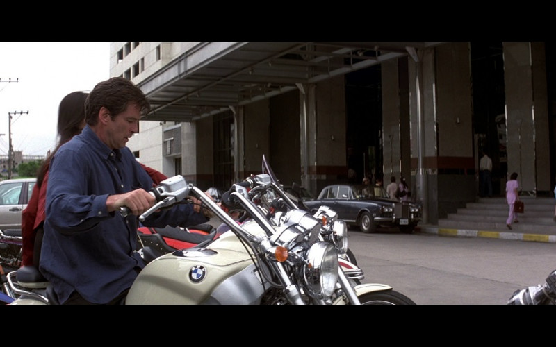 BMW R 1200 C motorcycle in Tomorrow Never Dies (1997)