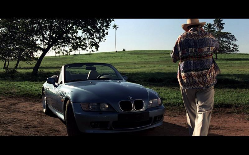 BMW Z3 Convertible Car in GoldenEye (1995)