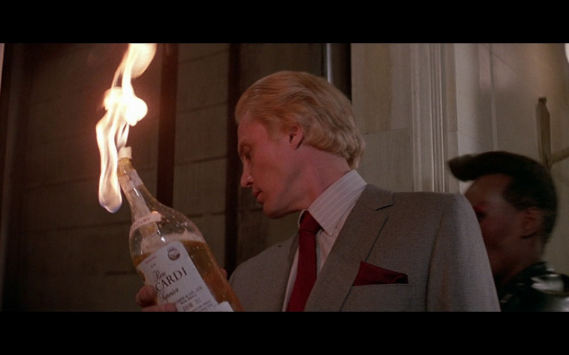 Bacardi Bottle in A View to a Kill (1985)