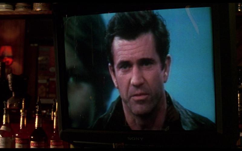 Bacardi, Leroux Brandy & Sony Television in Ransom (1996)