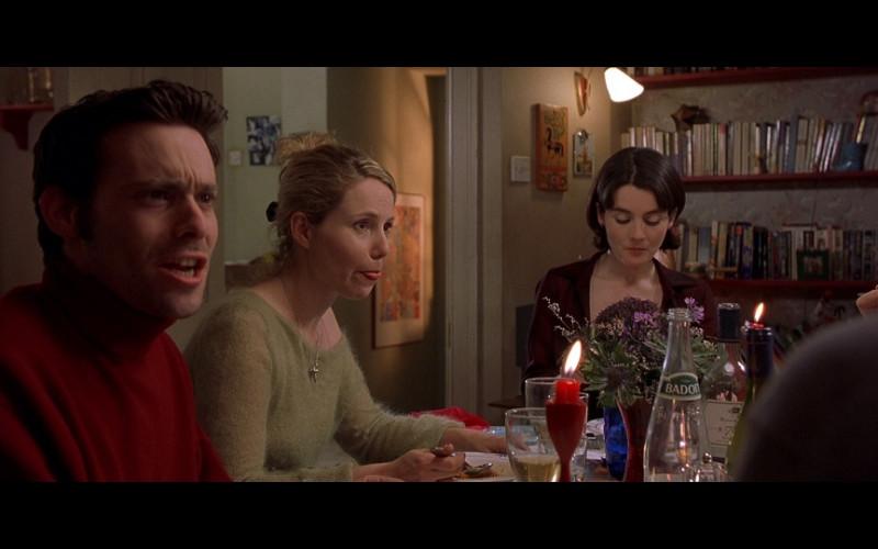 Badoit water in Bridget Jones's Diary (2001)