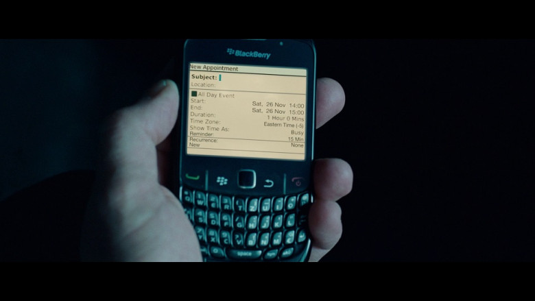 Blackberry mobile phone in Unknown (2011)