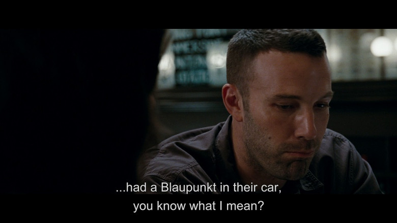 Blaupunkt in The Town (2010)