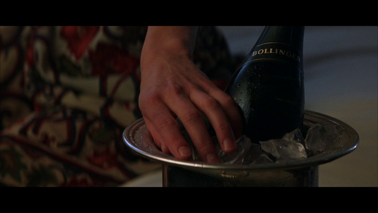 Bollinger Champagne in The World Is Not Enough (1999)