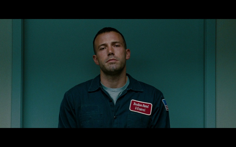Boston Sand & Gravel Construction Company Shirt of Ben Affleck as Doug in The Town (2010)