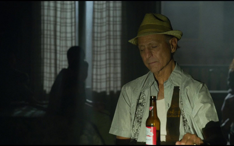 Budweiser Beer Bottle in The Little Things (2021)
