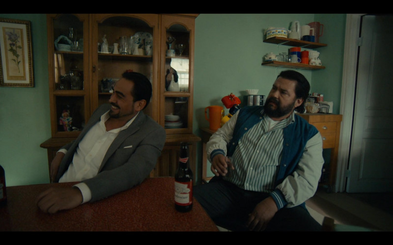 Budweiser Beer in Coyote S01E06 Plaza De Nada (2021)