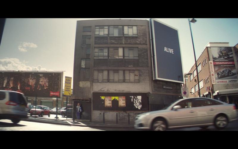 Budweiser & Yamaha Billboards in Blitz (2011)