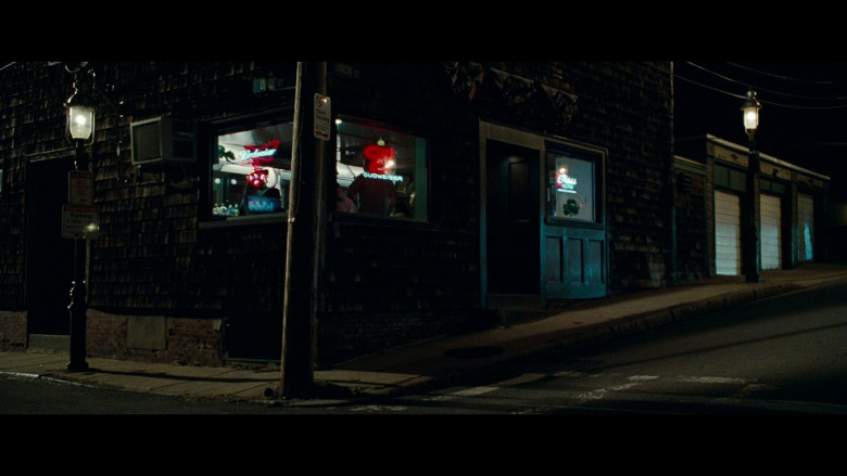 Budweiser neon signs in The Town (2010)