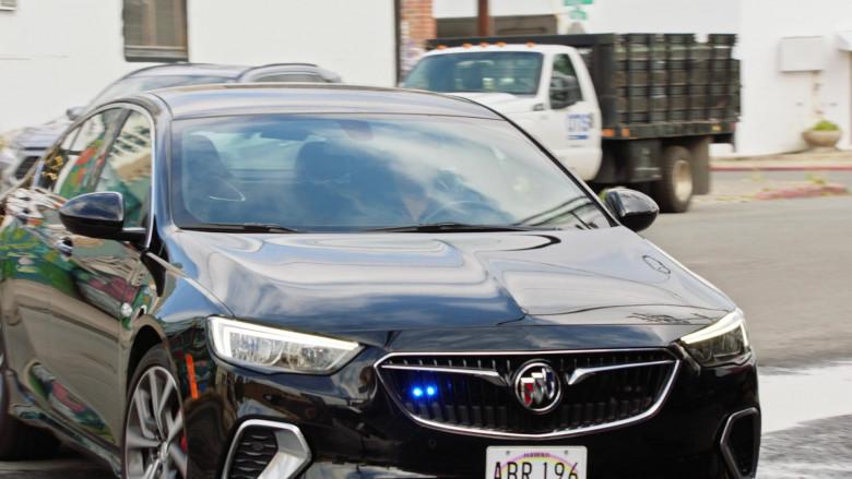 Buick LaCrosse Black Car of Tim Kang as Detective Gordon Katsumoto in Magnum P.I. S03E04 (1)