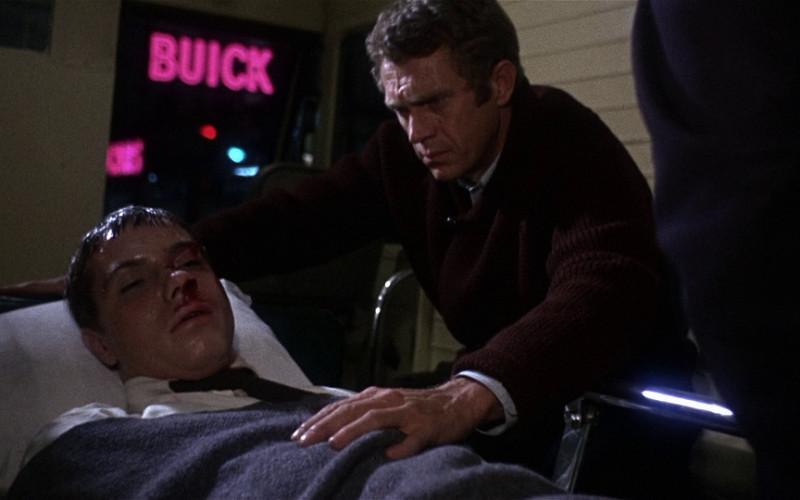 Buick Pink Neon Sign in Bullitt (1968)