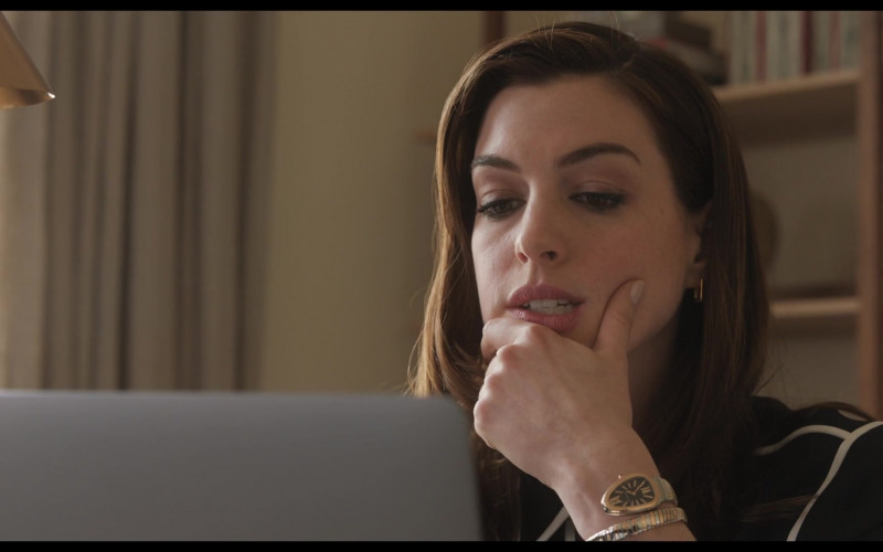 Bulgari Serpenti Women's 'Snake' Watch of Anne Hathaway as Linda Thurman in Locked Down (2021)