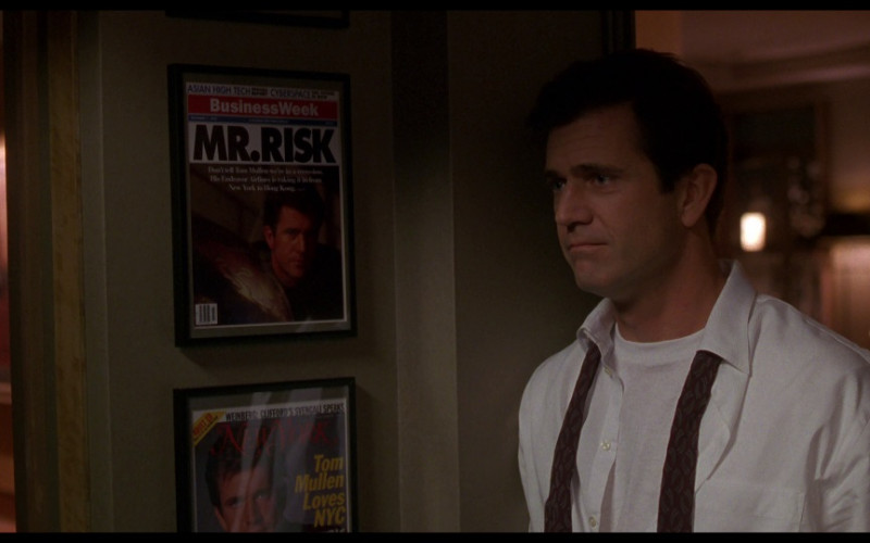 BusinessWeek & New York Magazine Covers in Ransom (1996) Movie