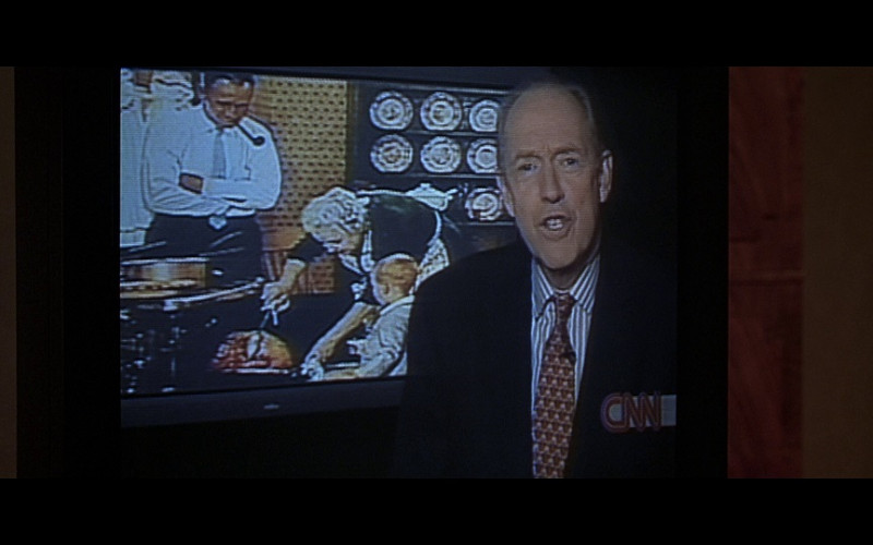 CNN TV Channel in Don't Say a Word (2001)