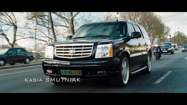 Cadillac Escalade Black Car in From Paris with Love (1)