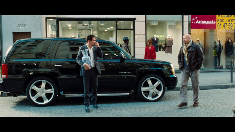 Cadillac Escalade Black Car in From Paris with Love (2)