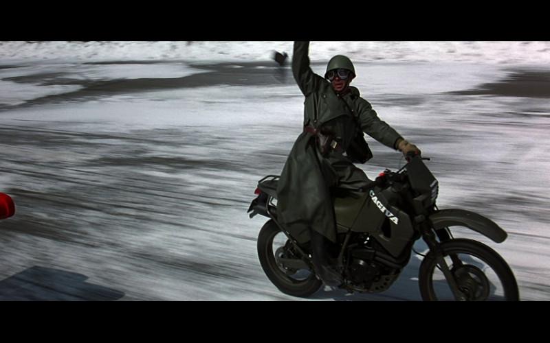 Cagiva Motorcycle in GoldenEye (1995)